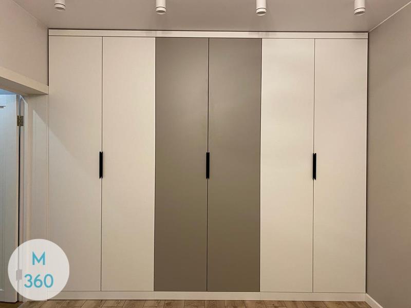 Встроенный шкаф с распашными дверями Конда Арт 008942113