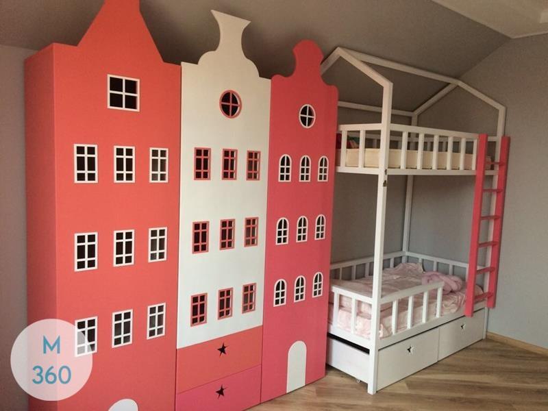 Шкаф для игрушек в детскую Антонио Арт 008980821