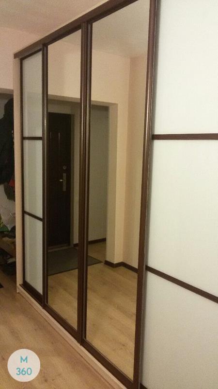 Шкаф купе с матовым стеклом Протея Арт 009161517