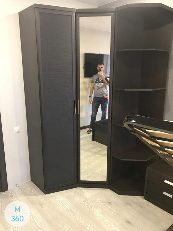 Радиусный шкаф с зеркалом Роза Арт 009188679