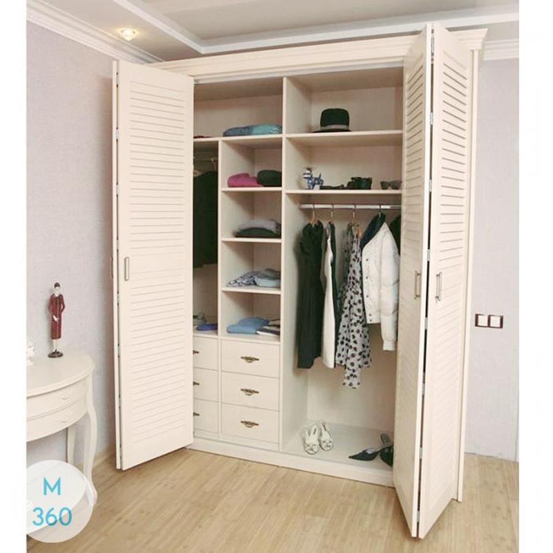 Шкаф с жалюзийными дверцами Римма Арт 009271453