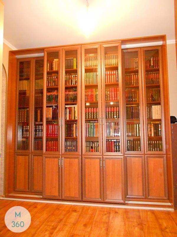 Распашной книжный шкаф Лима Арт 009295141