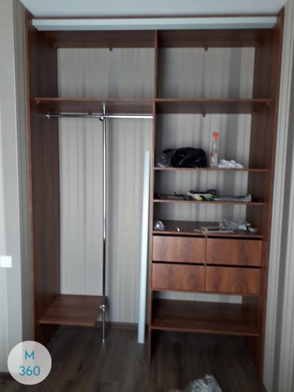 Встроенный шкаф купе в спальню Сицилия Арт 009456434