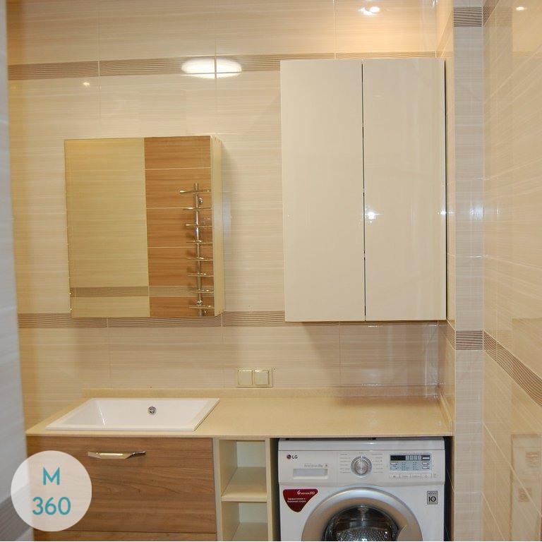 Шкаф в ванную комнату Пескара Арт 009572121