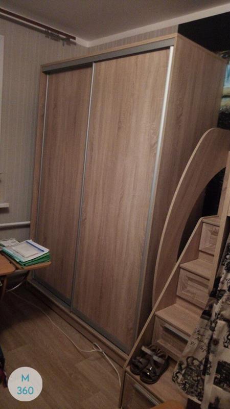 Бежевый шкаф купе Эулалия Арт 009599323