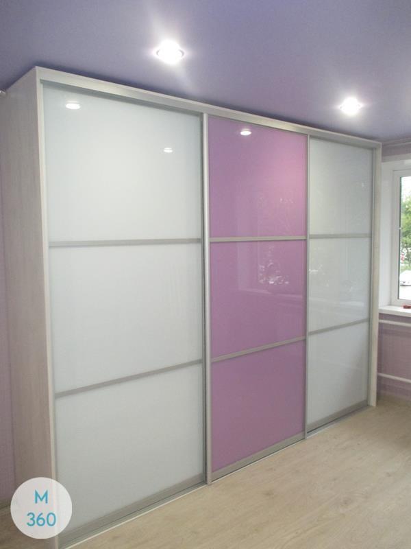 Фиолетовый шкаф купе Тугела Арт 009612018